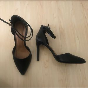 Black Forever 21 Strappy Heels